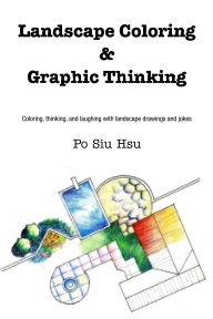 Landscape Coloring and Graphic Thinking book cover