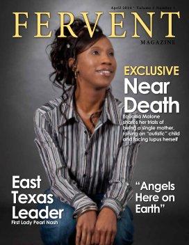 Fervent Magazine 2014 Prototype book cover