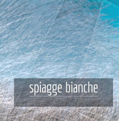 spiagge-bianche book cover