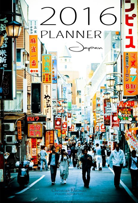 View 2016 Planner - Japan (English) by Christian Kleiman