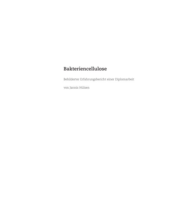 View Bakteriencellulose by Jannis Huelsen
