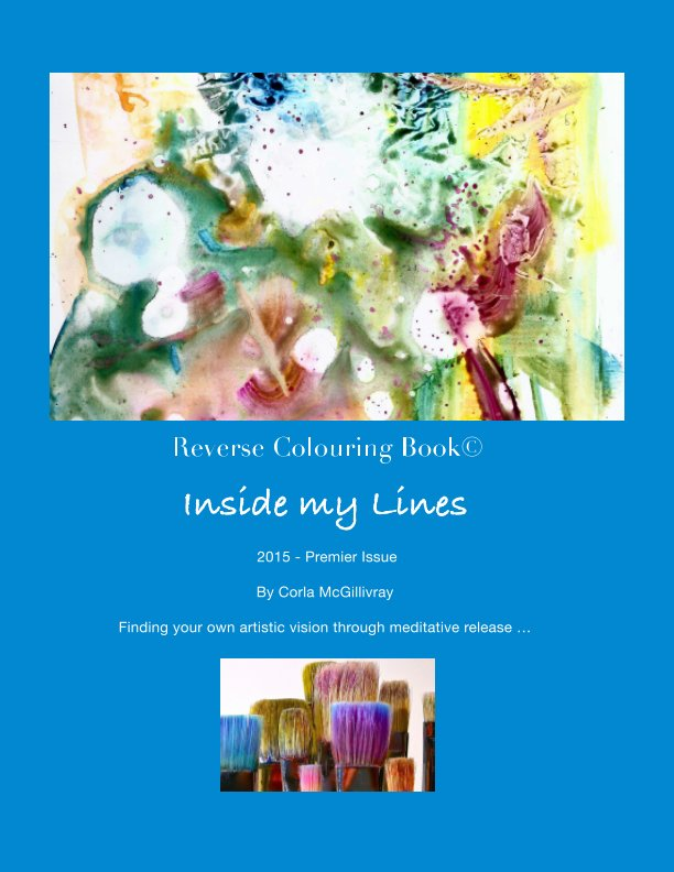 View Reverse Colouring Book by Corla McGillivray