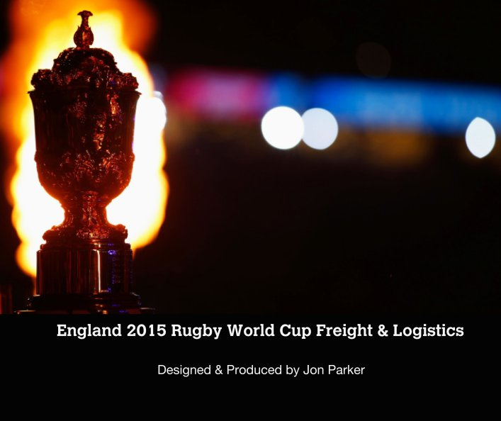 View England 2015 Rugby World Cup Freight & Logistics by Designed & Produced by Jon Parker
