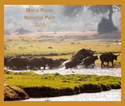 Mana Pools Safari 2015 book cover