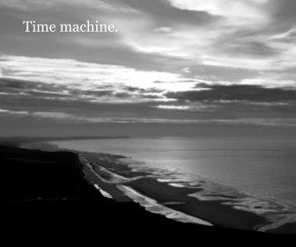 Time machine. book cover