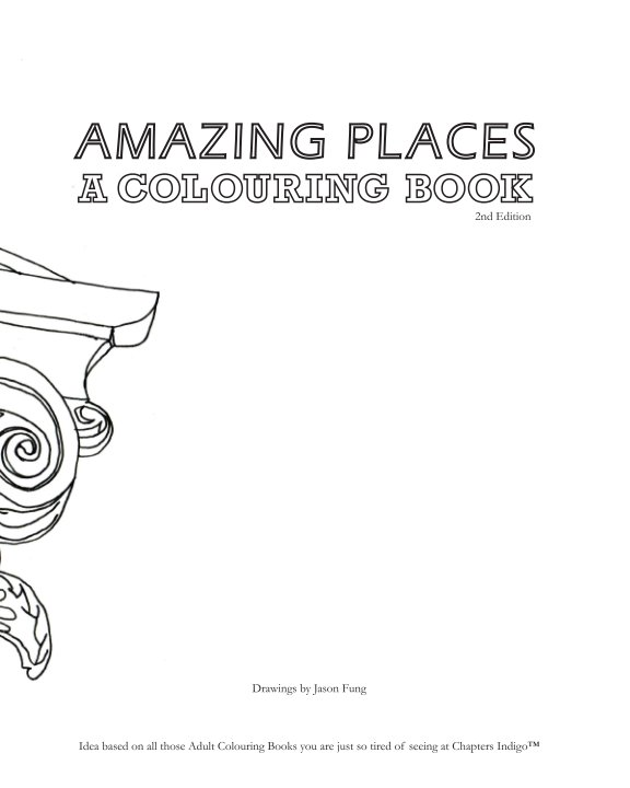 View Cities Colouring Book - 2nd Edition by Jason Fung