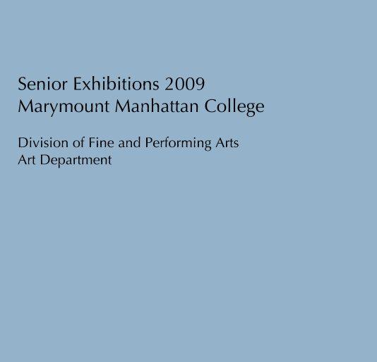 Senior Exhibitions 2009 Marymount Manhattan College Bianca Ayala