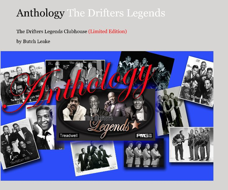 View Anthology The Drifters Legends by Butch Leake