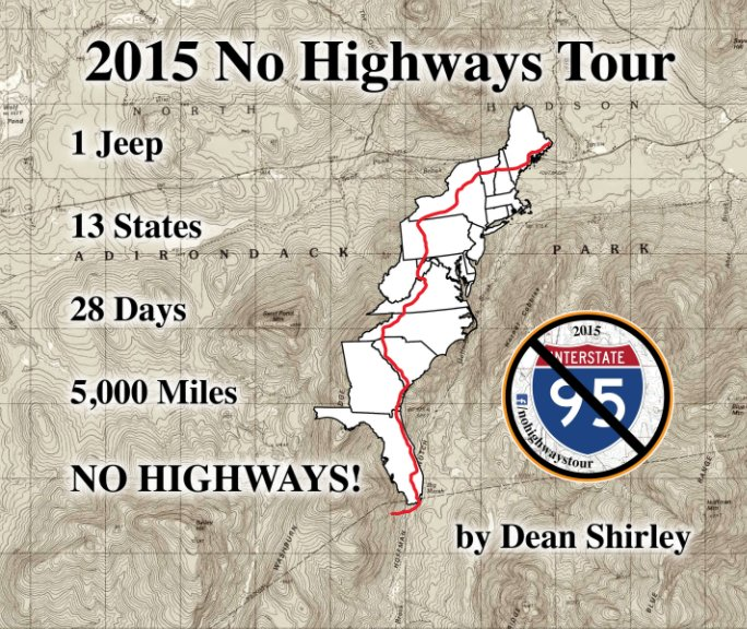 View 2015 No Highways Tour by Dean Shirley