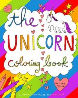 The Unicorn Coloring Book book cover