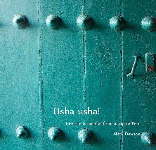 View Usha usha! by Mark Dawson