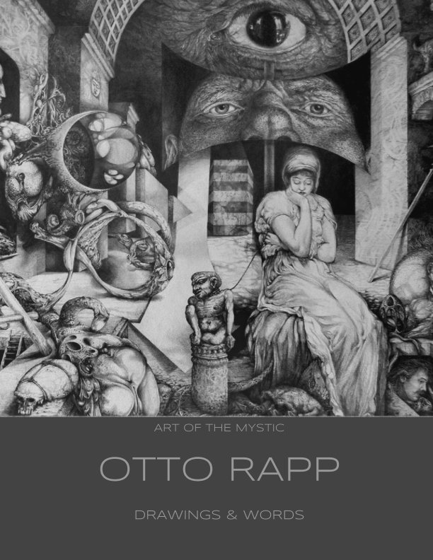View ART OF THE MYSTIC DRAWINGS AND WORDS by OTTO RAPP