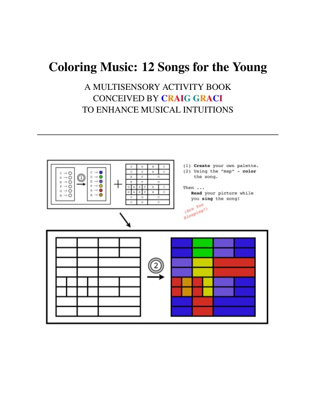 Coloring Music 12 Songs For The Young By Craig Graci