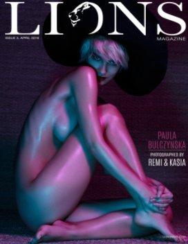 Lions Art Magazine #3 book cover