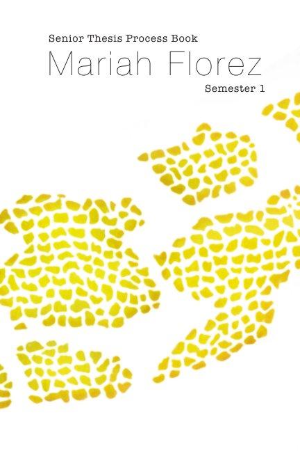 View Senior process book: semester 1 by Mariah Florez
