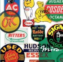 Misc. 66: Automobilia Signage 1 book cover