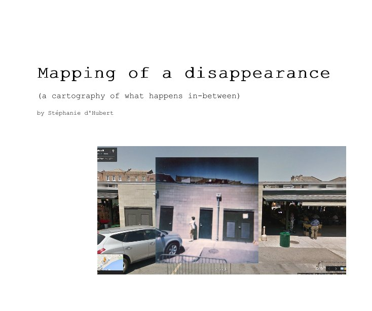 View Mapping of a disappearance by Stéphanie d'Hubert