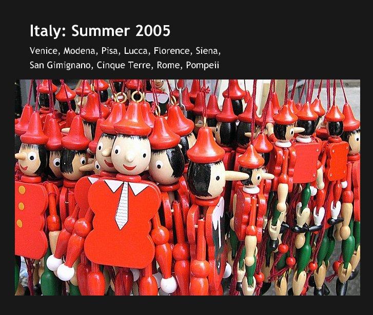 Ver Italy: Summer 2005 por David Grenewetzki