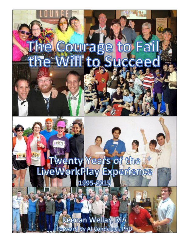 View The Courage to Fail, the Will to Succeed (Softcover Magazine) by Keenan Wellar