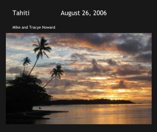 Tahiti                August 26, 2006 book cover