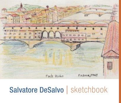 Salvatore DeSalvo: sketchbook book cover