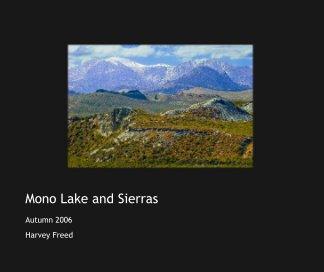 Mono Lake and Sierras book cover