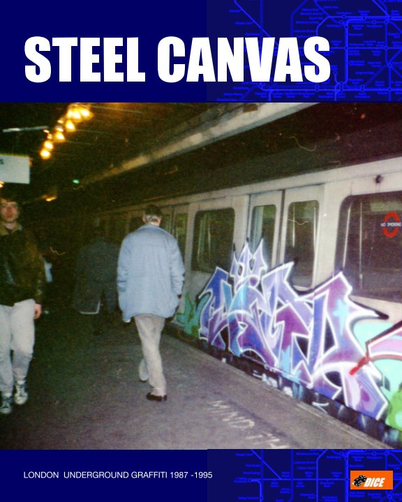 View Steel Canvas (portrait) by Dice
