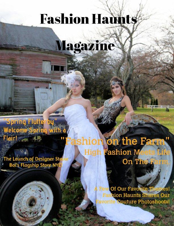 View Fashion Haunts Issue #1 by Sandra Foley
