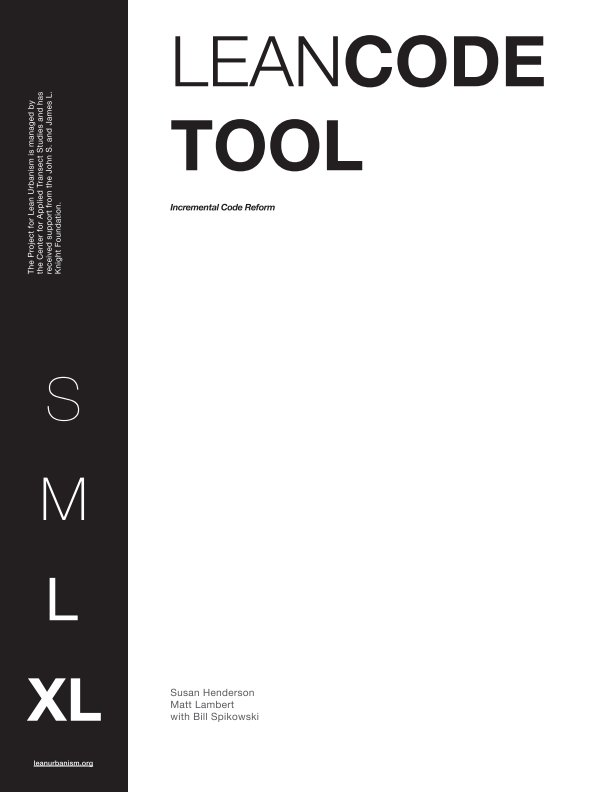 View Lean Code Tool by Susan Hendersion, Matthew Lambert, with Bill Spikowski