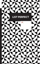 List Perfect • Bullet Journal book cover