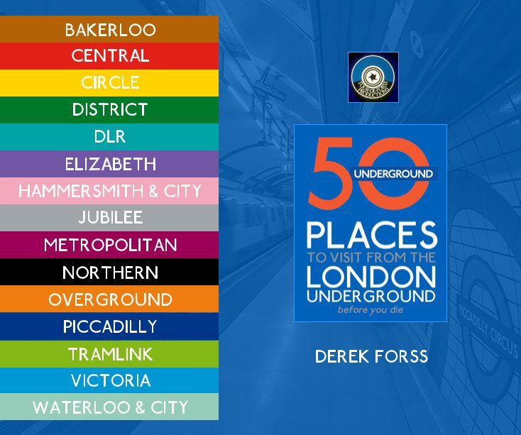 View 50 places to visit from the London Underground before you die by Derek Forss