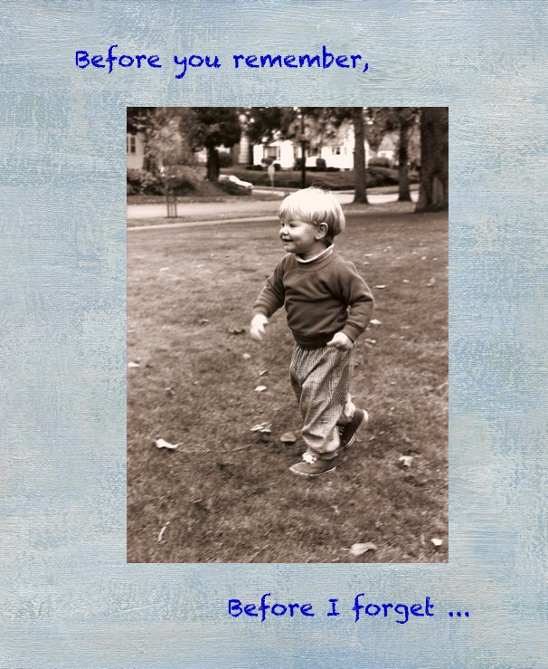 View Before you Remember, Before I Forget... by Kathryn Olney