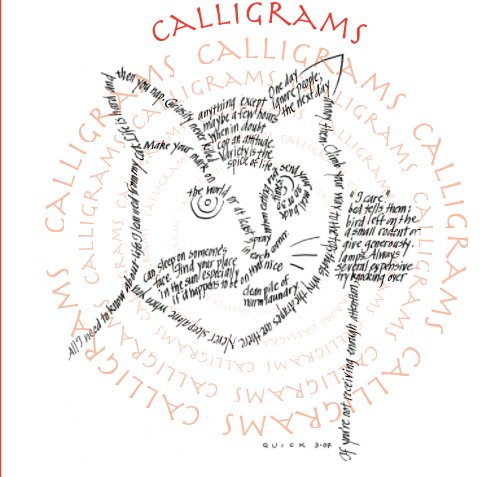 View Calligrams by Jeanne Poland