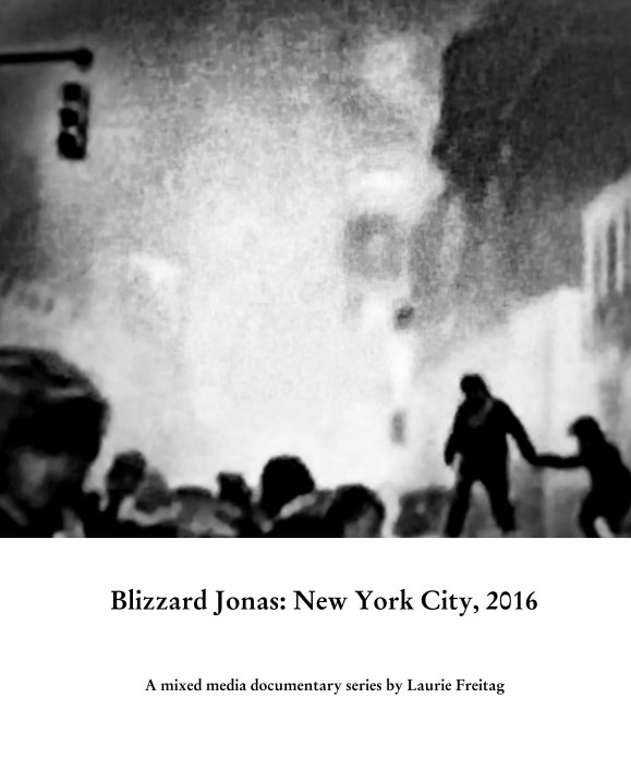 Blizzard Jonas: New York City, 2016 by Laurie Freitag | Blurb Books