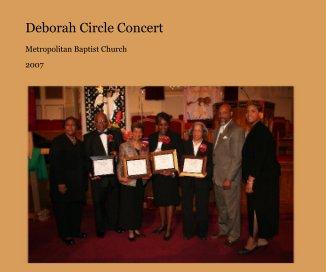Deborah Circle Concert book cover