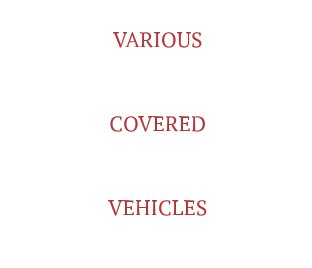 Various Covered Vehicles