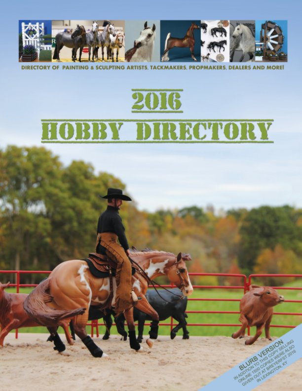 View Blurb version Hobby Directory 2016 by Morgen Kilbourn, contributors