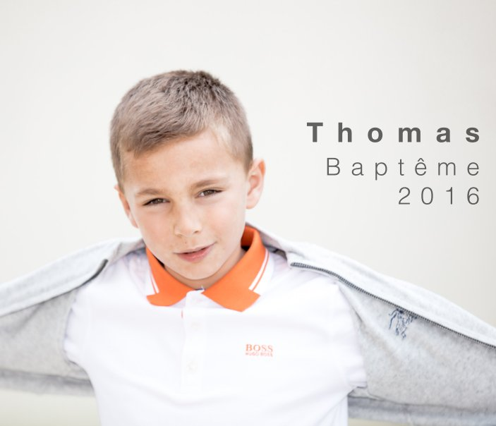 View Thomas Bapteme 2016 by Aurelien FAURE