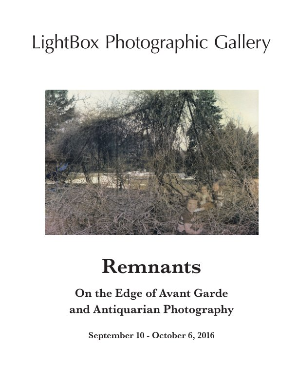 View Remnants by LightBox Photographic Gallery