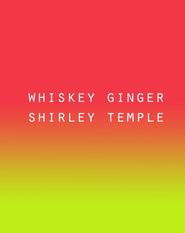 View Whiskey Ginger Shirley Temple: MFA Thesis Exhibition Portfolio (PREMIUM MATTE PAPER - HARDCOVER) by Philippe (Hyojung Kim)