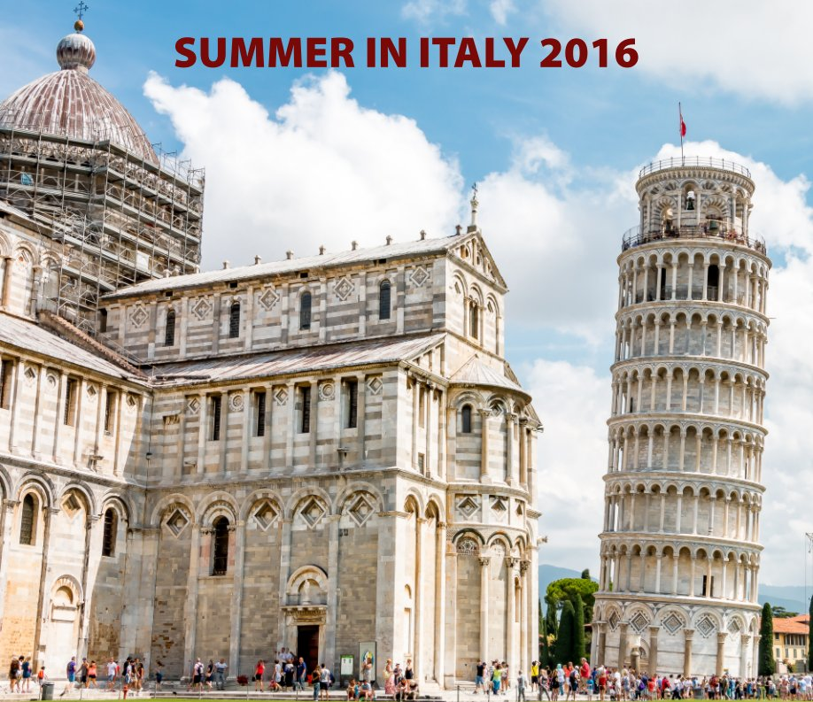 View Summer in Italy 2016 by Geoff Piper