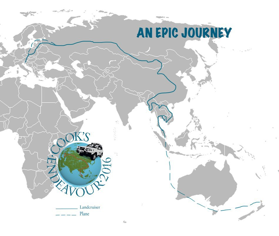 View An Epic Journey by Ray Cook