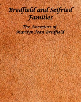 Bredfield and Seifried Families book cover