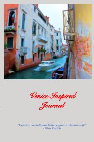 Venice-Inspired Journal book cover