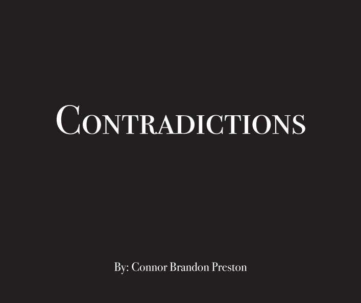 View Contradictions by Connor B. Preston