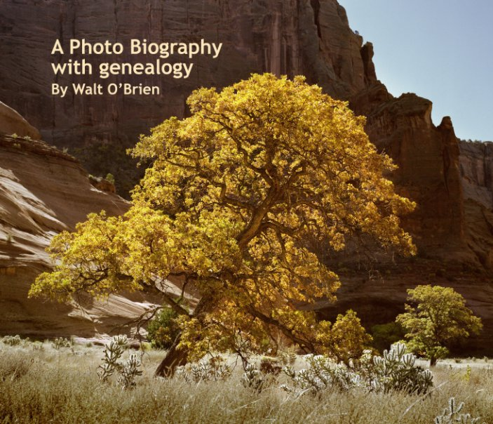 View A Photo Biography with genealogy by Walt O'Brien by Walter William O'Brien