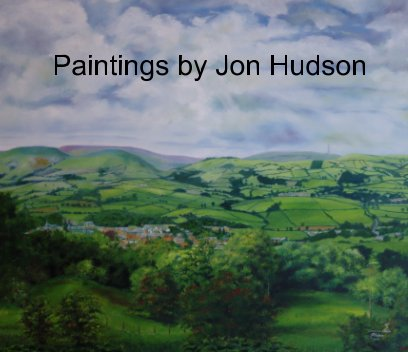 Paintings by Jon Hudson book cover