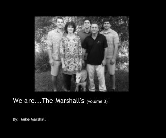 We are The Marshall's (volume 3) book cover