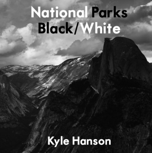 View National Parks Black/White by Kyle Hanson