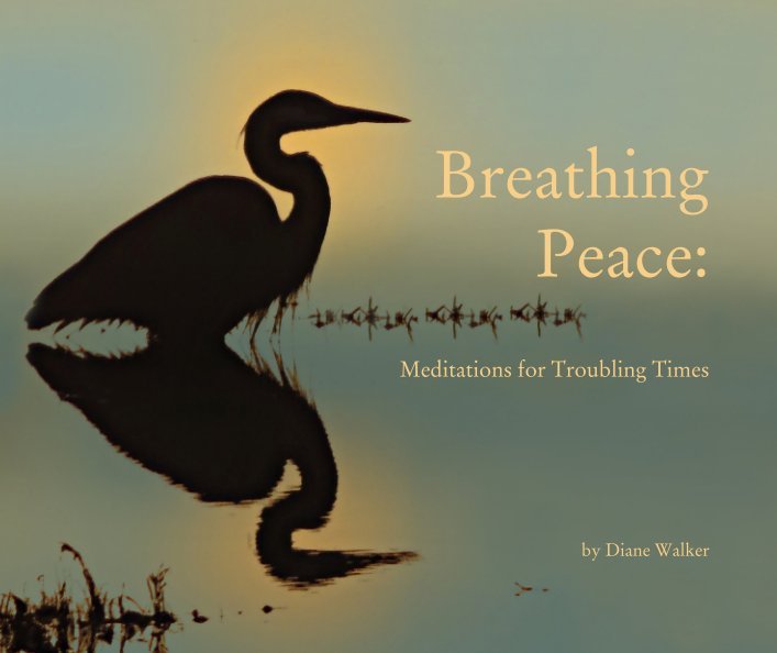 View Breathing     Peace:                                        Meditations for Troubling Times by Diane Walker